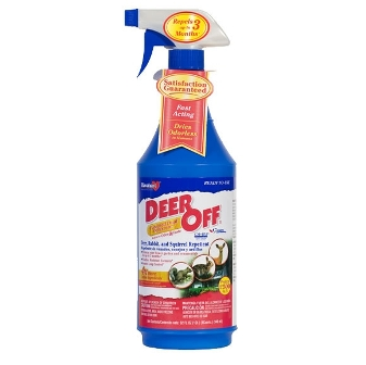 NEW! Deer Off� II Deer & Squirrel Repellent, 16 oz RTU Spray DO32RTU
